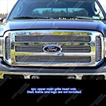 APS Compatible with 05-07 Ford F250 F350 Super Duty Excursion Main Upper Billet Grille F65799A