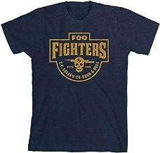 Foo Fighters S.F. Valley Men`s T-Shirt Heather Navy