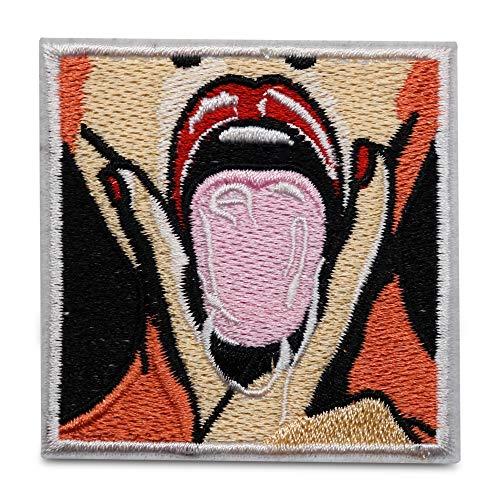 Finally Home Dripping Tongue Patch zum Aufbügeln | Frauen Zungen Patches, Bügelflicken, Flicken, Aufnäher