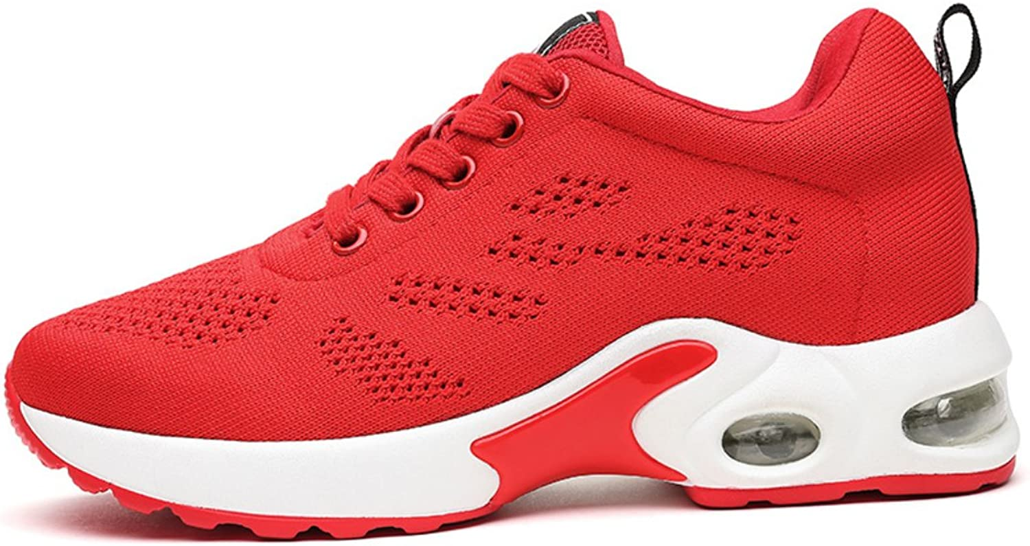Lusam feeling Women's Athletic Running Sneakers Fashion Sport Air Fitness Workout Gym Jogging Walking shoes
