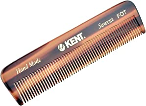 Kent A FOT Handmade All Fine Teeth Pocket Comb (4 1/2