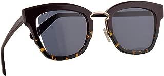 Salvatore Ferragamo SF886S Sunglasses Plum Havana w/Brown Lens 48mm 520 SF 886S