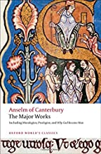 Best anselm of canterbury the major works Reviews