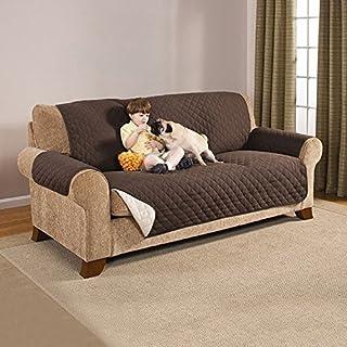 Protector de Sofá, Funda Sofa Impermeable,Funda Protectora de Muebles Reversible Resistente al Desgaste