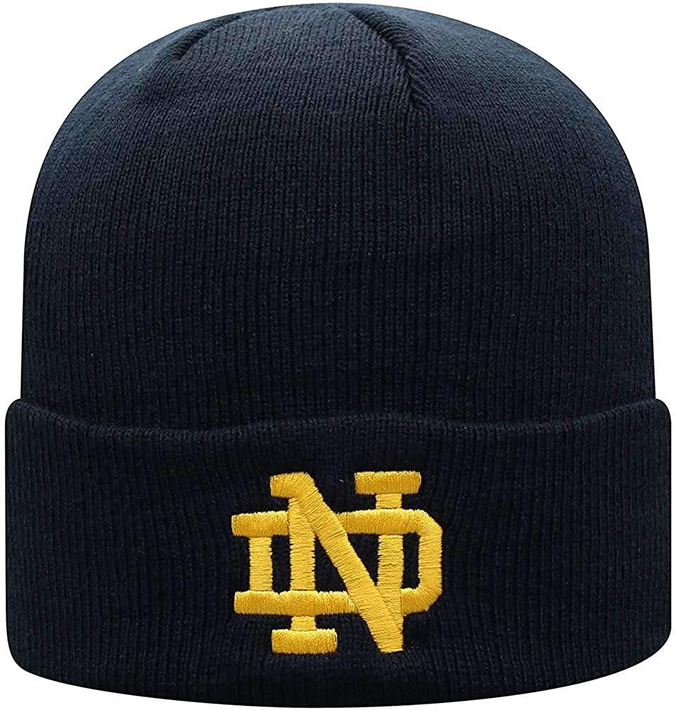 Top of the World One famous Fit Front Ico and Back Limited time cheap sale Cuffed Knit Team Hat
