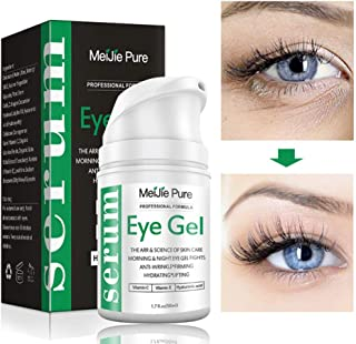 Eye Gel,Under Eye Cream,2019 Anti-Aging Eye Gel for Wrinkles,Fine Lines,Dark Circles,Puffiness,Bags,Eye Moisturizer for Men & Women - 1.7 fl oz.