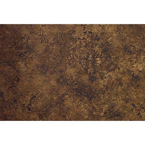 SIBU WALL ELEMENTS Decoratieve plaat van met glasvezel versterkt polypropyleen | 50x60 cm | Decor: LL Vintage Copper | 2 stuks