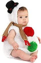 Newborn Infant Unisex Baby Christmas Costum Santa Claus Snowman Cosplay Outfits Set 0-3T