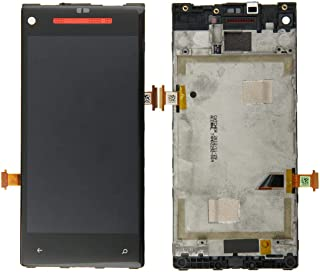 SHUHAN LCD Screen Phone Repair Part LCD Screen and Digitizer Full Assembly with Frame for HTC 8X Mobile Phone Accessory