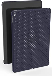 AndMesh iPad Pro 10.5 ケース Mesh Case メッシュ デザイン 純正スマートカバー対応 純正スマートキーボード対応 背面ケース/ミッドナイトブルー 612-957571