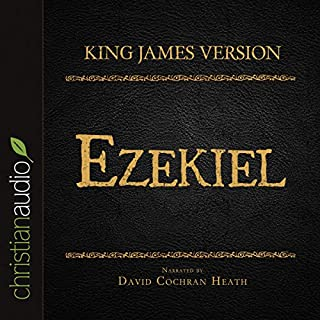 Holy Bible in Audio - King James Version: Ezekiel audiobook cover art