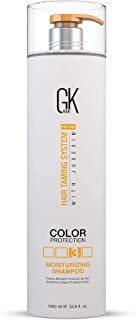 Global Keratin GK Hair Natural Moisturizing Shampoo (1000ml/ 33.8fl.oz) for Color Treated Dry Damaged Curly Frizzy Thin Ha...