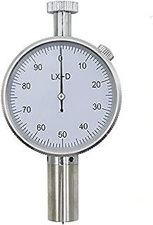 MXBAOHENG Portable Type D Shore Hardness Tester Durometer Sclerometer Single Needle LX-D