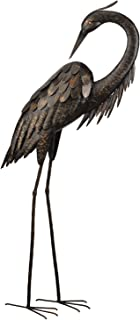Best Regal Art &Gift Preening Bronze Heron Standing Art, 43-Inch Review