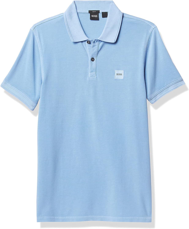 BOSS Men's Prime Slim Fit Short Sleeve Polo T-Shirt