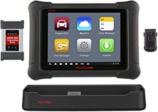 Autel Scanner MaxiSys Elite Automotive Diagnostic Tool (Upgraded Version of MS908P Pro) with Wifi Bluetooth Full OBD2 Automotive Scanner with J2534 with 2 years warranty & 2 years free software update
