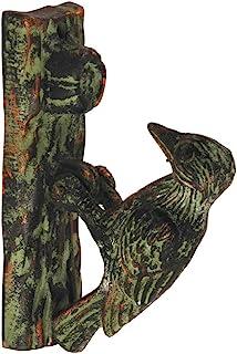 Esschert Design Door Knocker - Woodpecker Green Patina