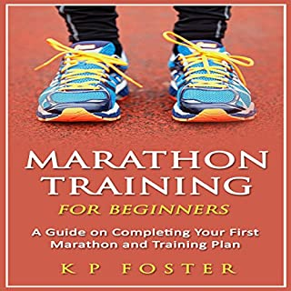 Marathon Training for Beginners audiobook cover art