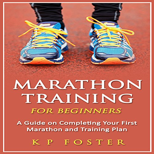 Marathon Training for Beginners audiobook cover art