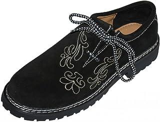 Dirndl Trachten Haus Leather German Embroidered Oktoberfest Lederhosen Haferl Shoe Black