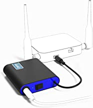 Oakter Mini UPS for 12V WiFi Router Uninterrupted Power Backup for WiFi Routers During Power Outage Upto 2 Hours Power Bac...