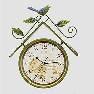 Reloj De Pared De Números Reloj de pared de la vendimia for no hacer tictac del reloj de cuarzo de calidad Sala de juegos ...