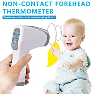 Multifuntional Infrared Thermometer,Digital Thermometer Baby Adult Forehead Non-contact Infrared Thermometer With LCD Backlight Bestselling dropship Color Alarm