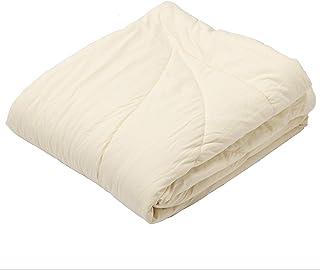 東京西川 合掛け布団 ベージュ シングル 洗える とろける マシュマロタッチ 西川のキレイな布団 AE00980060BE