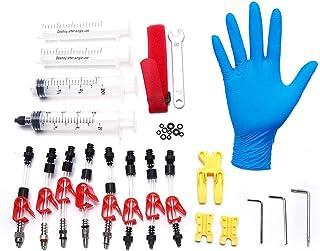 comprar comparacion VGEBY Kit de Purga de Freno de Bicicleta, Juego de Herramientas de Sangrado de Freno de Disco Mineral hidráulico Kit de re...