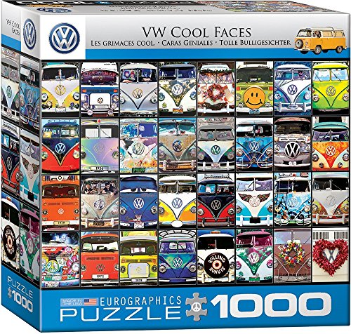 Eurographics 8000-0870 VW Cool Faces - Puzzle 1000