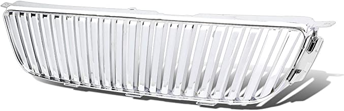 Chrome Badgeless ABS Plastic Vertical Front Bumper Grille for Lexus IS300 01 02 03 04 05 2001 2002 2003 2004 2005