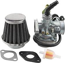 GOOFIT PZ19 Carburetor with Air Filter Cable Choke for 50cc 70cc 90cc 110cc 125cc Chinese ATV Quad Go-kart