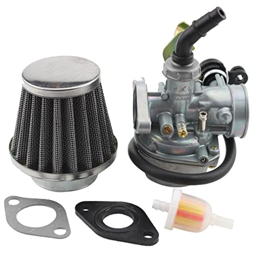goofit pz19 carburetor with air filter cable choke for 50cc 70cc 90cc 110cc  125cc chinese atv