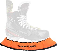 SHERWOOD - Senior Pro ijshockey elastische schaatsbeschermers voor ijshockey- en schaatsen, 2 stuks.
