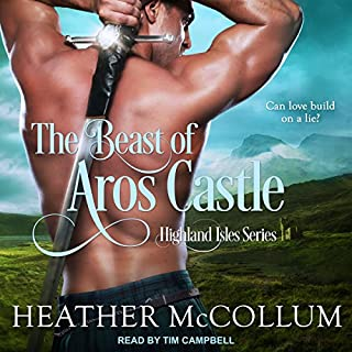 The Beast of Aros Castle audiobook cover art