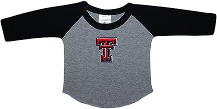Texas Tech University Red Raiders Baby and Toddler 2-Tone Raglan Baseball Shirt