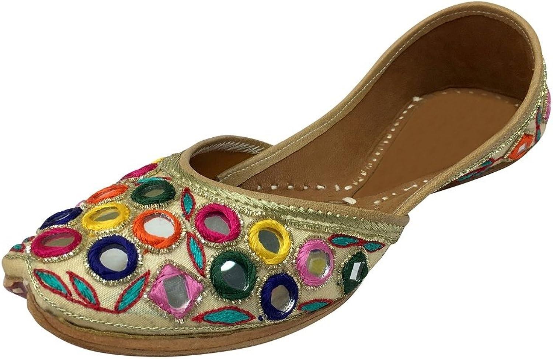 Step n Style Punjabi Jutti Khussa shoes Wedding Bridal shoes Mojari Jaipuri Jooti DD996