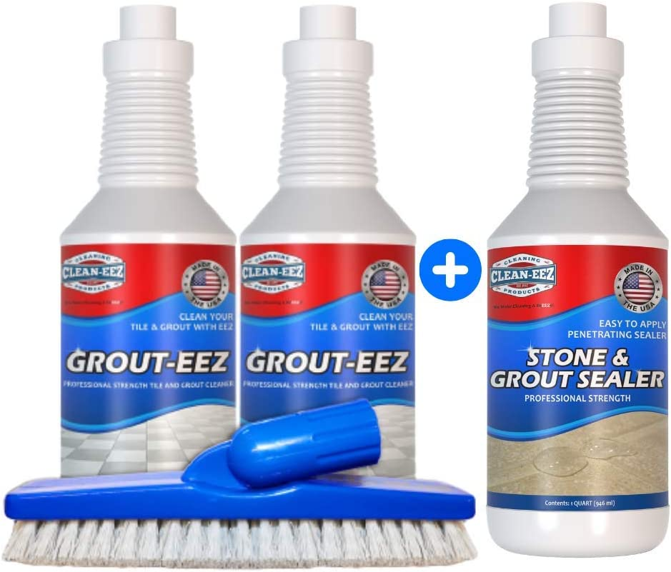 Grout Cleaner Sealer Bundle. Clean Tile Max 83% OFF This With Max 76% OFF Your