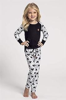 Pijama Recco Infantil de Cetim Flanelado