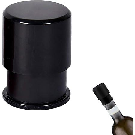 FRUNEP 【最新版】ワインキャップ 酸化防止ワイン真空保存/バキュームポンプ BLACJA