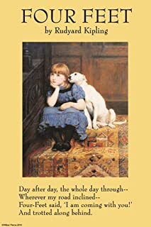 ArtParisienne Four Feet Rudyard Kipling 20x30 Poster Semi-Gloss Heavy Stock Paper Print