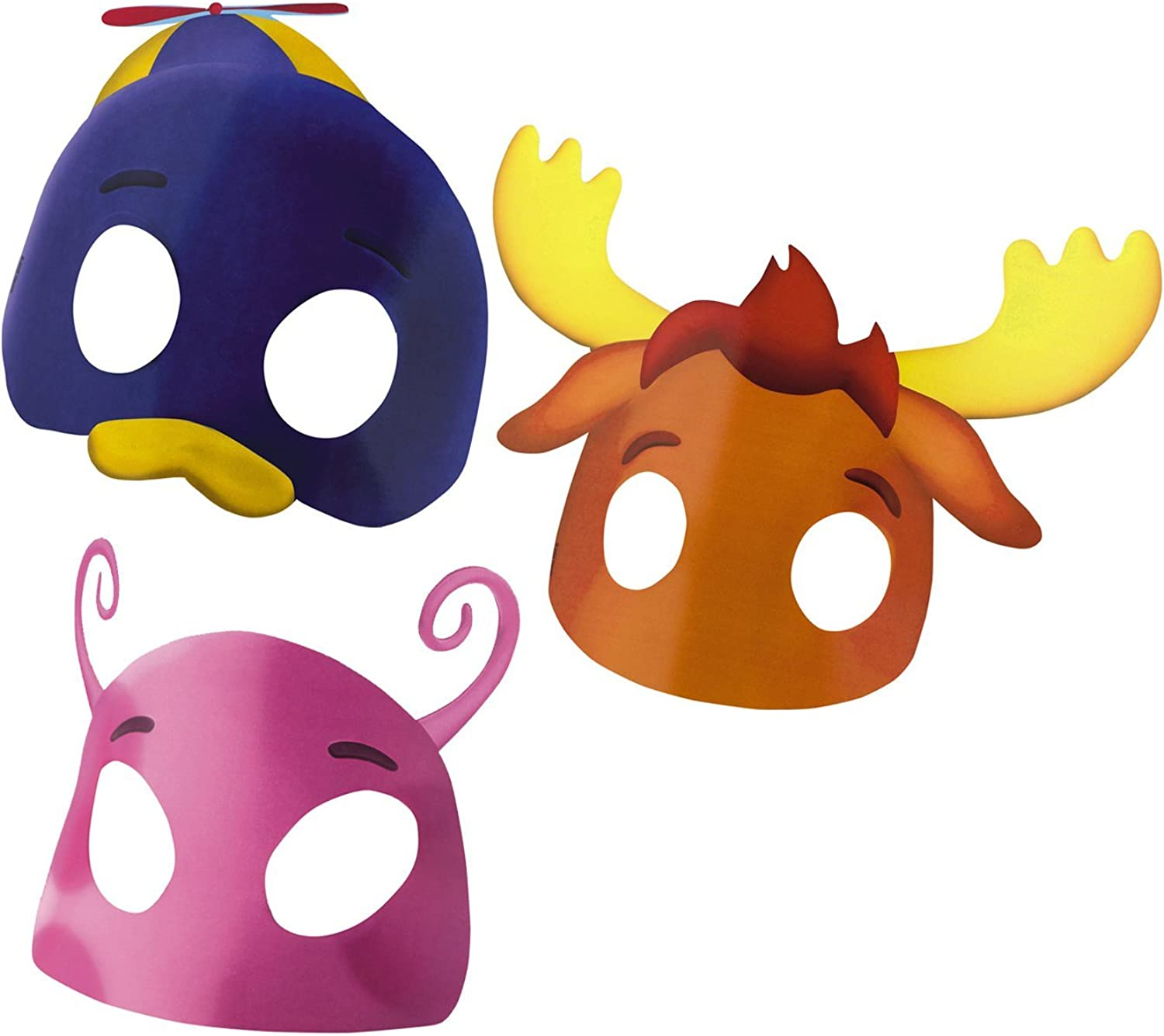 Amscan 152728 Backyardigans Masks Asst.