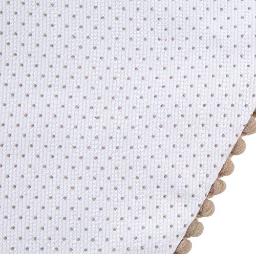 Capota portabeb/é color blanco con puntos gris Babyline Paseos De Toile