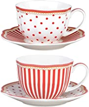 Best red and white tea set Reviews