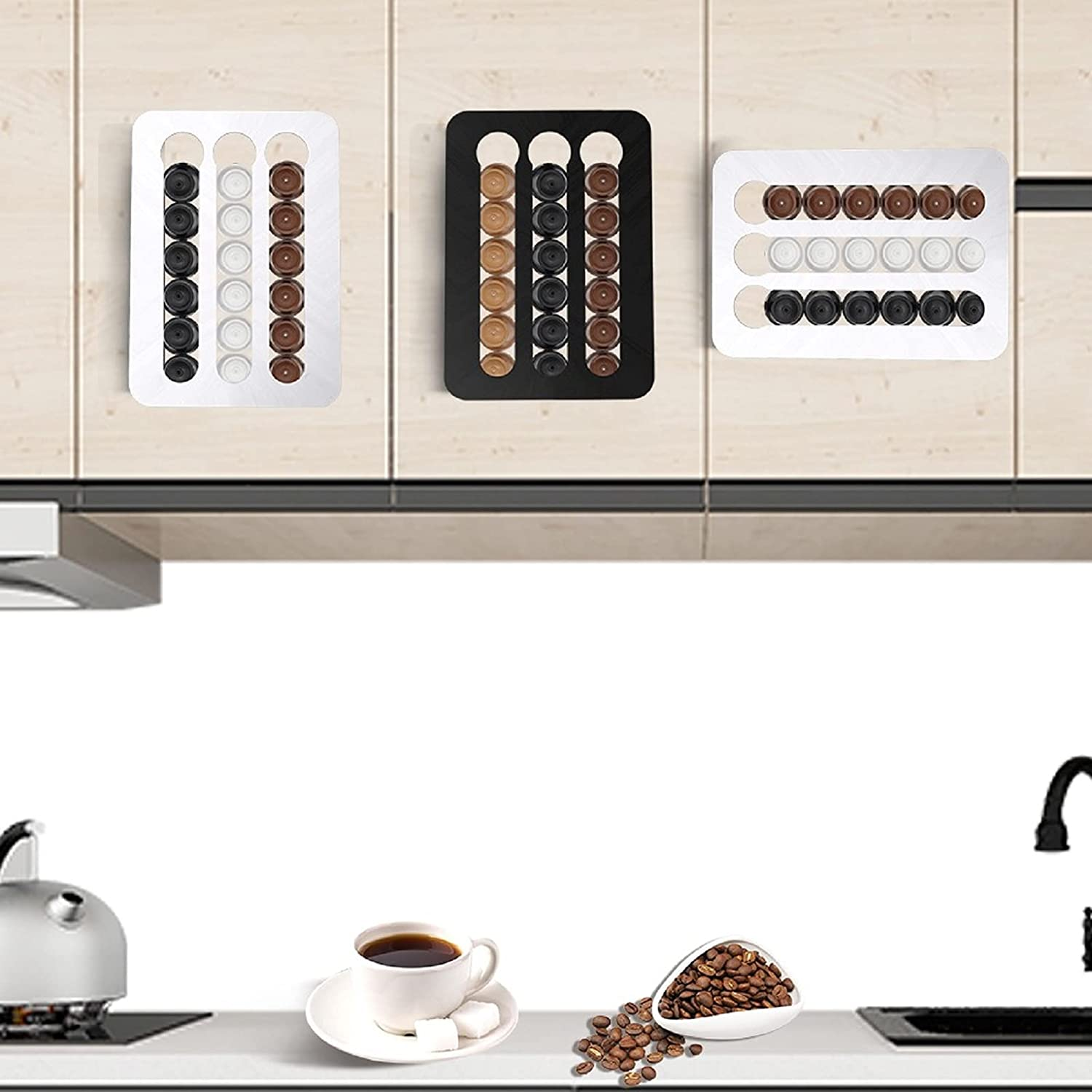 Yongqin Houston Mall Coffee Pod Holder for O Dolce Sale special price Gusto Wall-Mounted