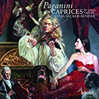 Paganini: 24 Caprices Op.1 by Becker Bender (2009-03-10)