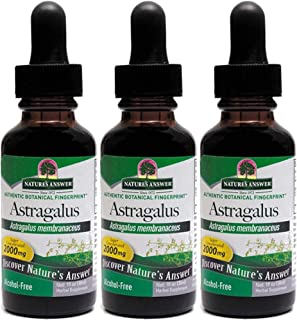 Nature's Answer Astragalus Root, 1 Ounces each (Value Pack of 3)