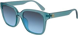Gucci - Gafas de Sol Gucci GG0715SA BLUE/BLUE SHADED 53/19/145 mujer