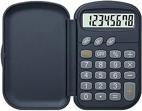 $27 » WCN Calculators Portable Business Calculator Student Office Pocket Calculator Business Flip 8 Bit Desktop Calculator Black...