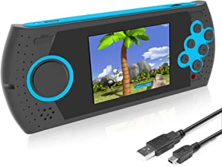 EASEGMER Kids Adults Handheld Games Console ,16 Bit Electronic Retro Game Console with 230 HD Games 3.0-Inch TFT Color Scr...